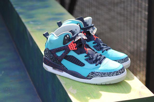 Air Jordan Spizike Turquoise Blue