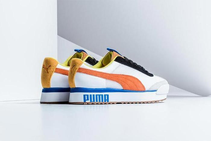 Puma Roma Amor Sport Mandarine Red Three Quarter Heel