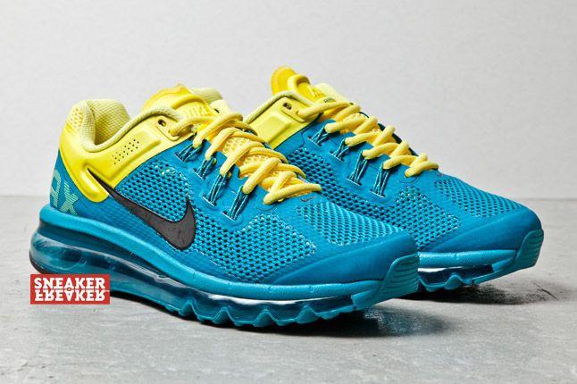 Nike Wmns Air Max Plus 2013 Tropical Teal Sonic Yellow 2 1
