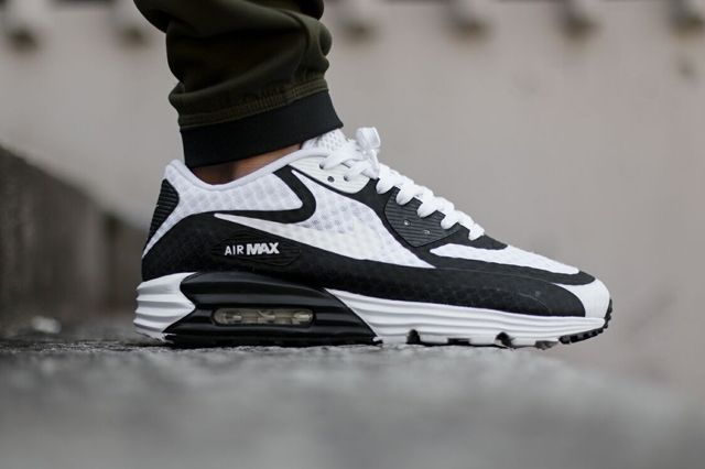 Nike Air Max 90 Lunar Br Black White Bumper 3