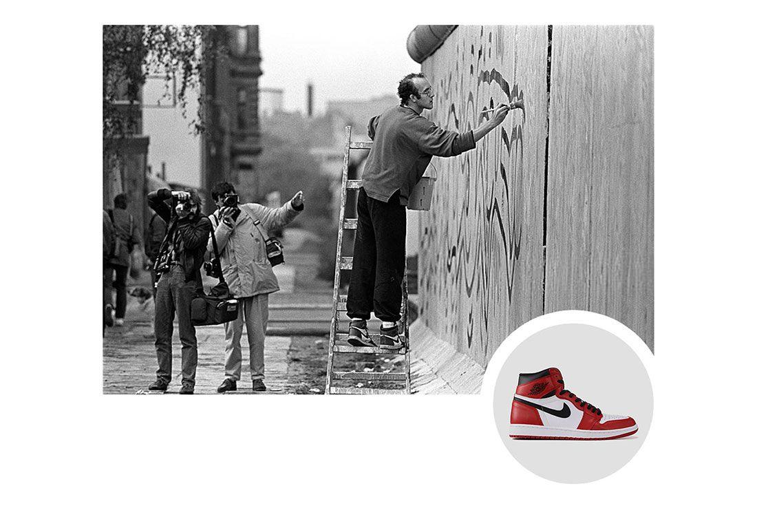 Trainer Spotting Keith Haring Air Jordan 1