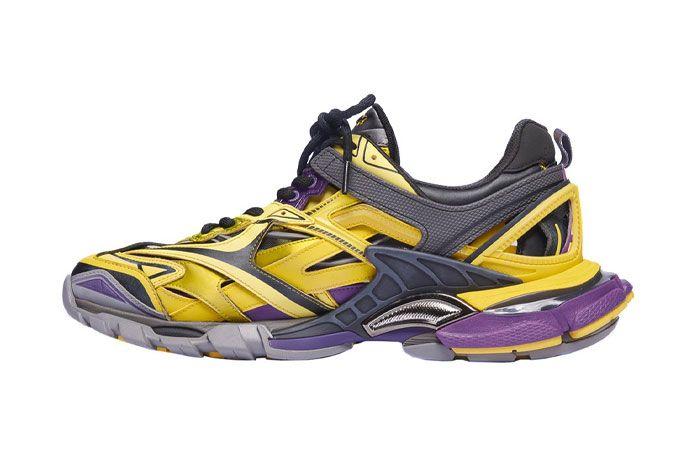 Balenciaga Track Sneaker Lakers Medial