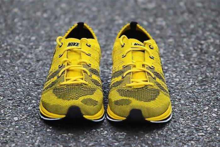 Nike Flyknit Racer Bright Citron 1