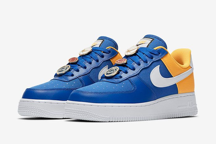 Nike Air Force 1 Low Warriors Aa0287 401 Release Date 4 Pair