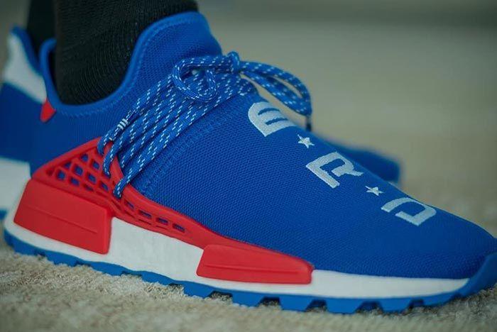 Pharrell Williams Adidas Nmd Hu Nerd Release 2