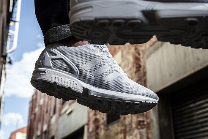 Adidas Zx Flux Triple White2