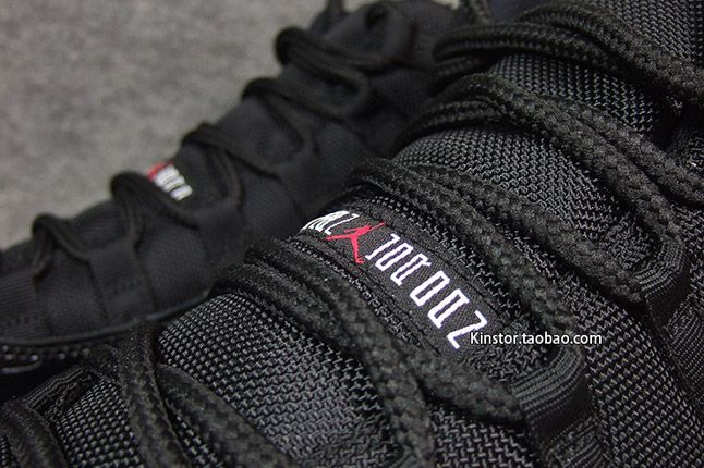 Air Jordan 11 Bred Playoff 2012 Laces 1