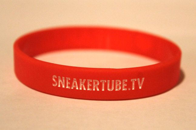 Sneakertube Red Wristband 1
