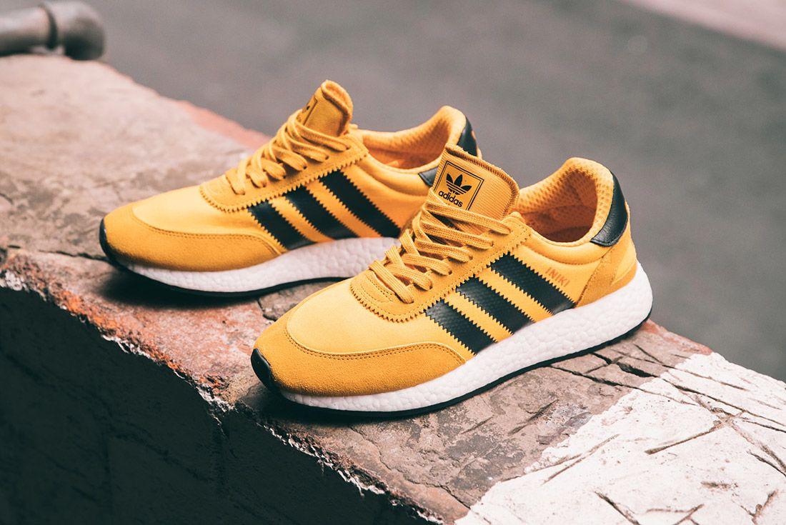 Adidas Iniki Runner Goldenrod Yellow 3