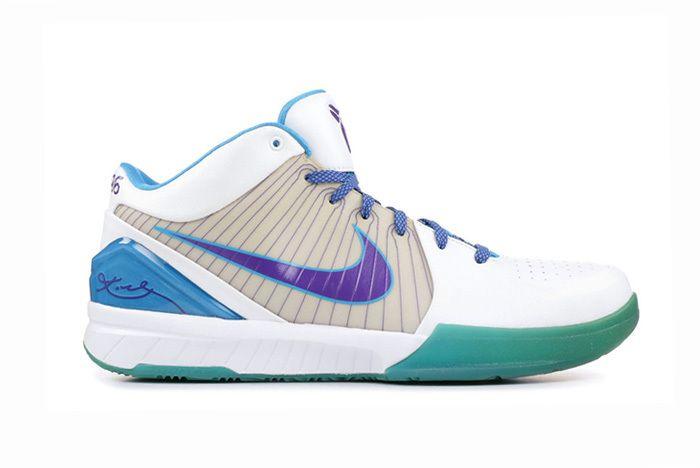 Nike Kobe 4 Protro Draft Day White Orion Blue Varsity Purple Av6339 100 Release Date Sneaker Freaker