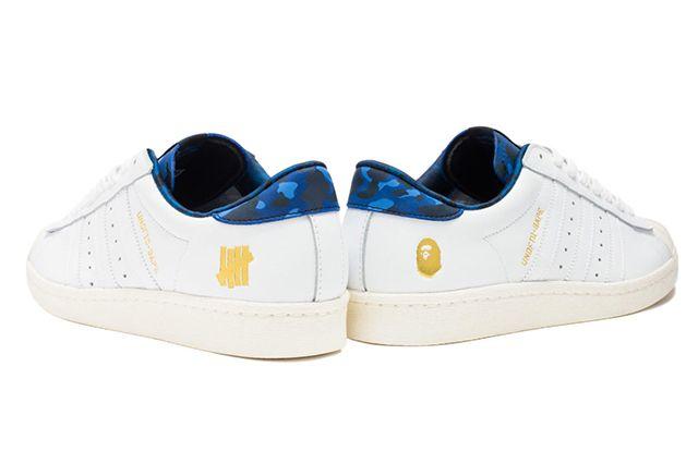 Undftd X Bape X Adidas Collection