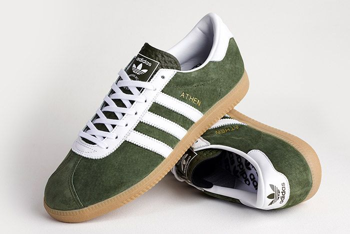 Adidas Athen Forest Green 4