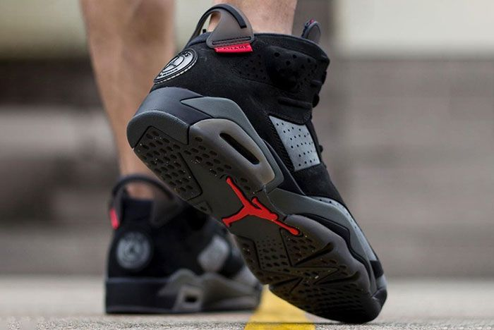 Psg X Air Jordan 6 On Foot 2