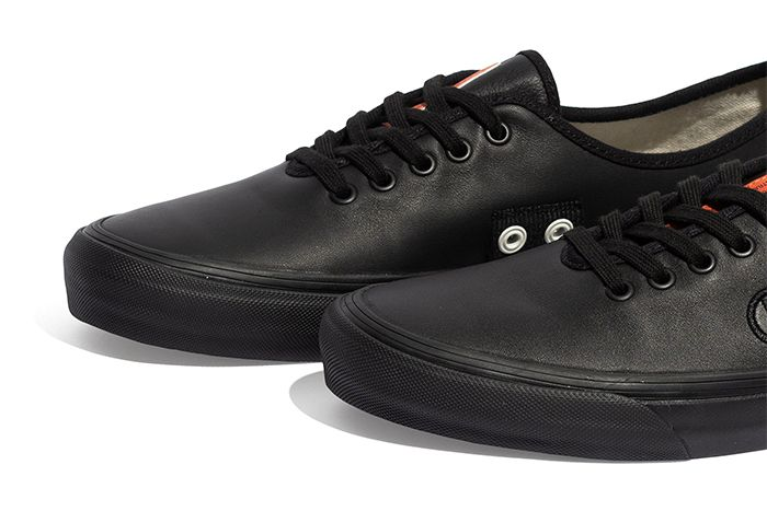 Taka Hayashi Vans Authentic One Piece Black Leather Release Date Toes
