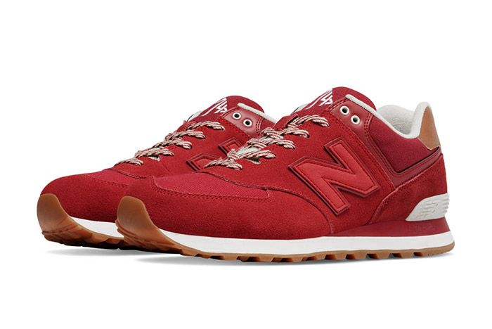 New Balance 574 Collegiate Pack Red 3