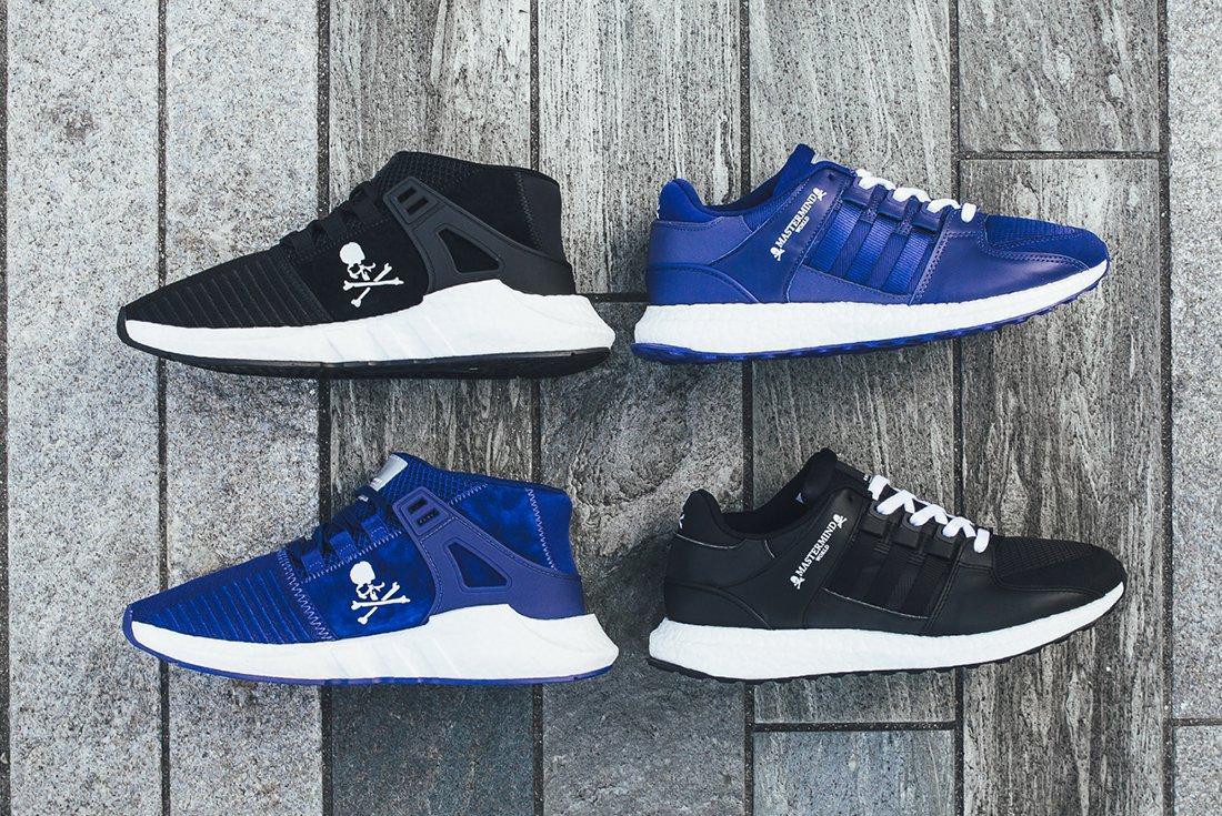 Mastermind X Adidas Eqt Pack 4