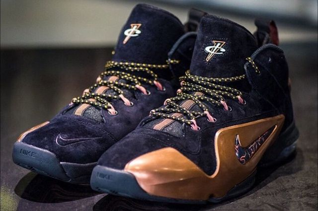 Nike Air Penny 6 Copper 8