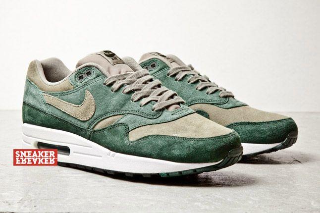 Nike Air Max 1 Suede Grn 2 1