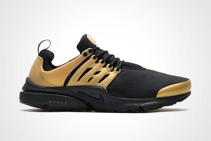 Nike Air Presto Black Metallic Gold Thumb