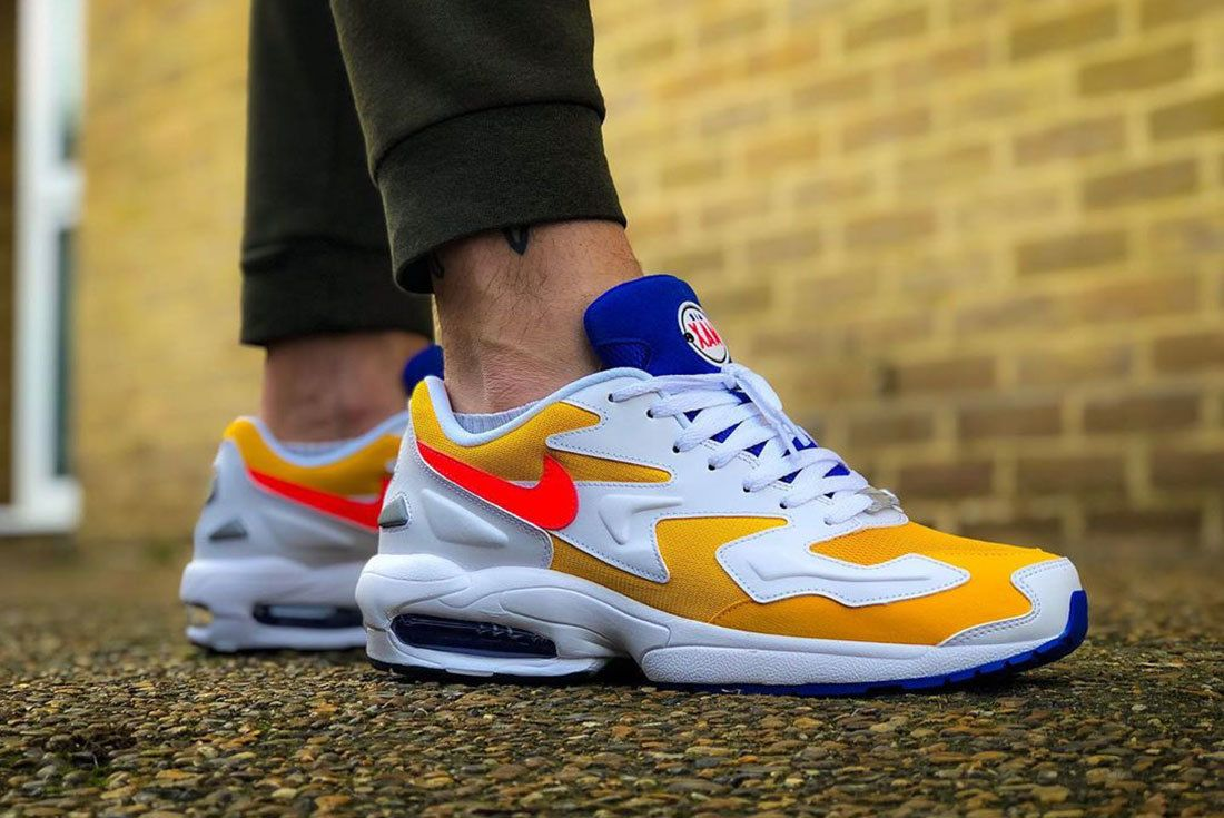 On Foot Air Max2 Light Header