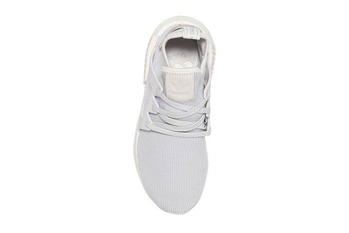Adidas Nmd Xr1 Knit Triple White 2