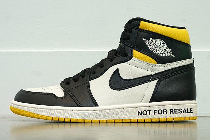 Air Jordan 1 Not For Resale Pack 10