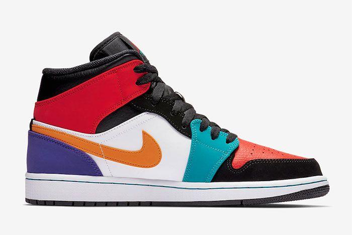 Air Jordan 1 Multicolour Release 2
