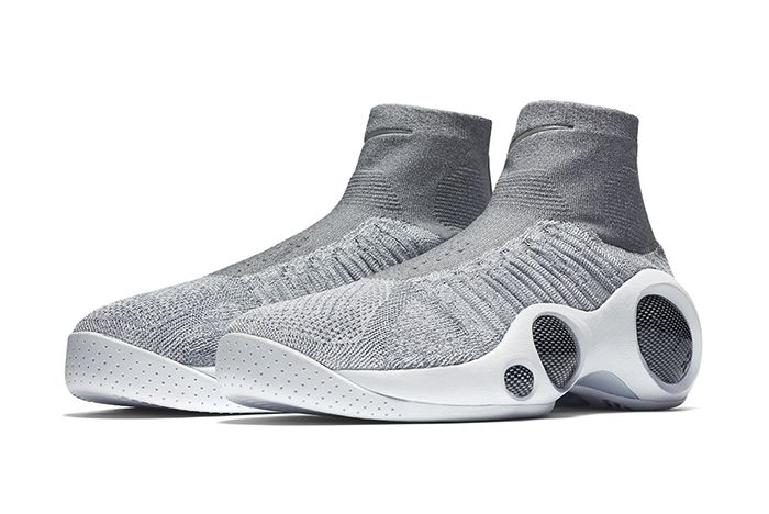 Nike Zoom Flight Bonafide Grey White2