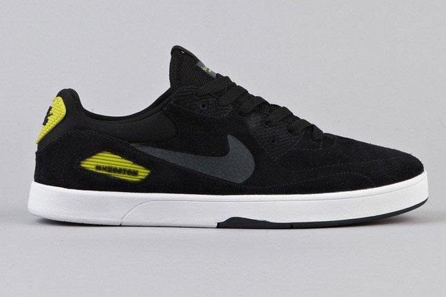 Nike Sb Koston Heritage Black Anthracite Atomic Green Side 1