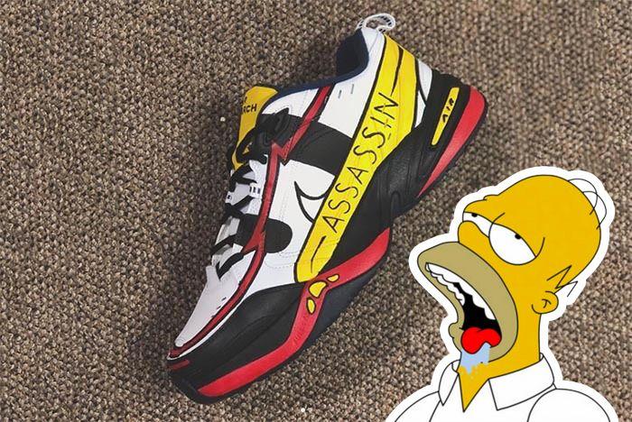 Homer Simpsons Assassin Sneaker Freaker