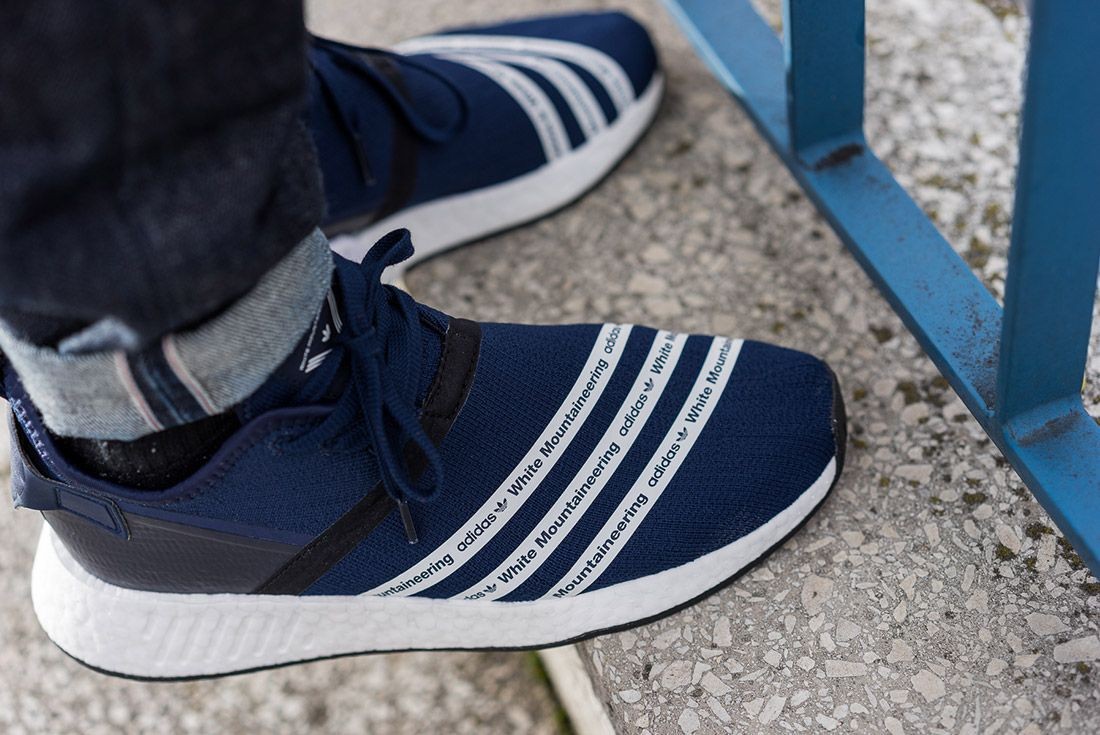 White Mountaineering Adidas Nmd R2 1