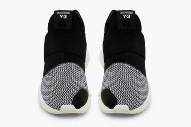 Y3 Qasa Low Black White3