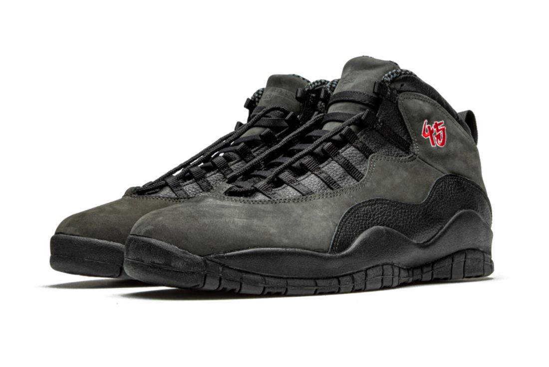 Air Jordan 10 'Shadow' Player Exclusive Angled