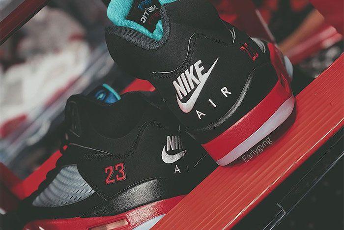 Air Jordan 5 Top 3 Heel 2