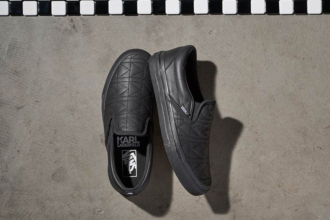 Karl Lagerfield X Vans Collection 2