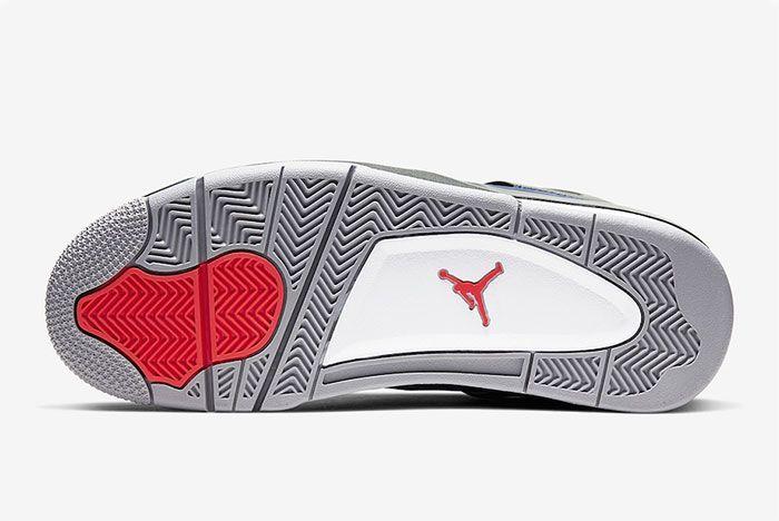 Air Jordan 4 Wntr Winter Loyal Blue Sole