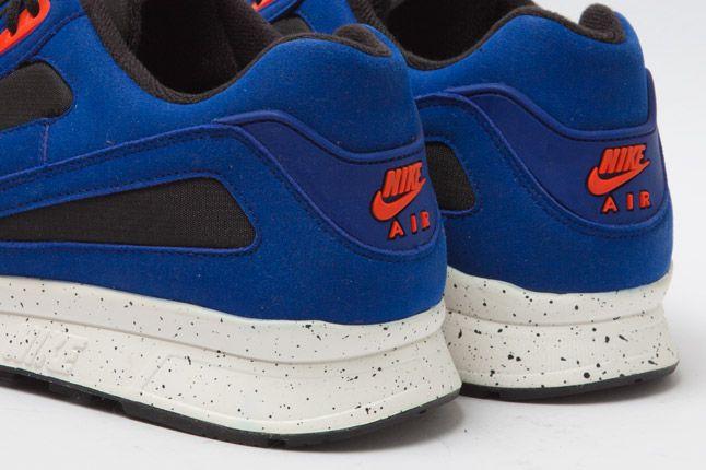 Nike Air Current Blue Heel Details 1