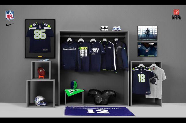 Nike Nfl Fanwear Seahawks 2012 1