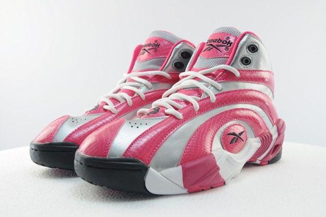 Reebok Shaqnosis Pink Silver 8
