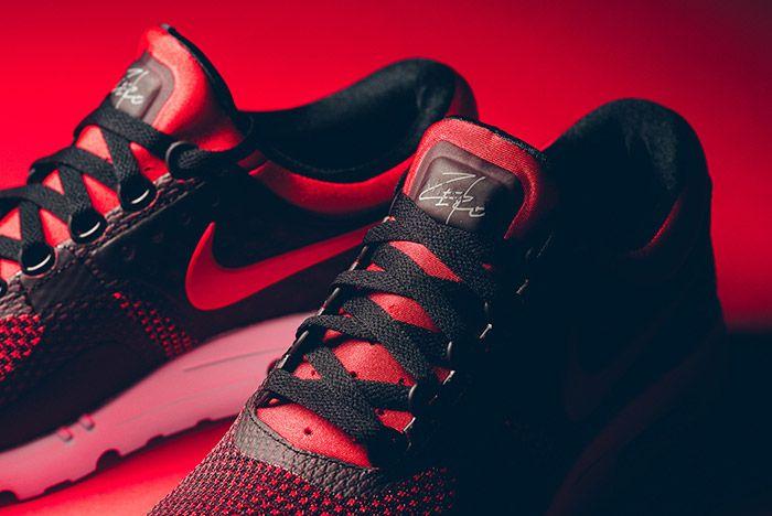 Nike Air Max Zero Black Red 5