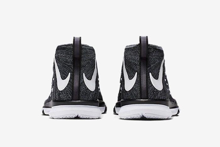 Nike Train Ultrafast Flyknit Black White 2