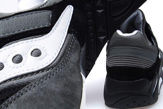 Saucony Grid 9000 Premium Pack Black Grey 3 1