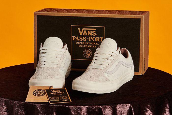 Pass Port X Vans Old Skool Pro4