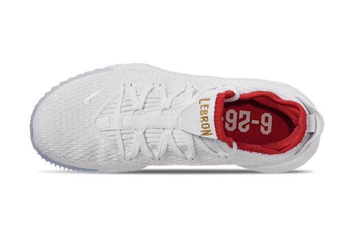 Nike Lebron 16 Low Draft Night Ci2668 100 Release Date Top Down