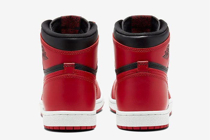 Air Jordan 1 85 High Varsity Red Heel