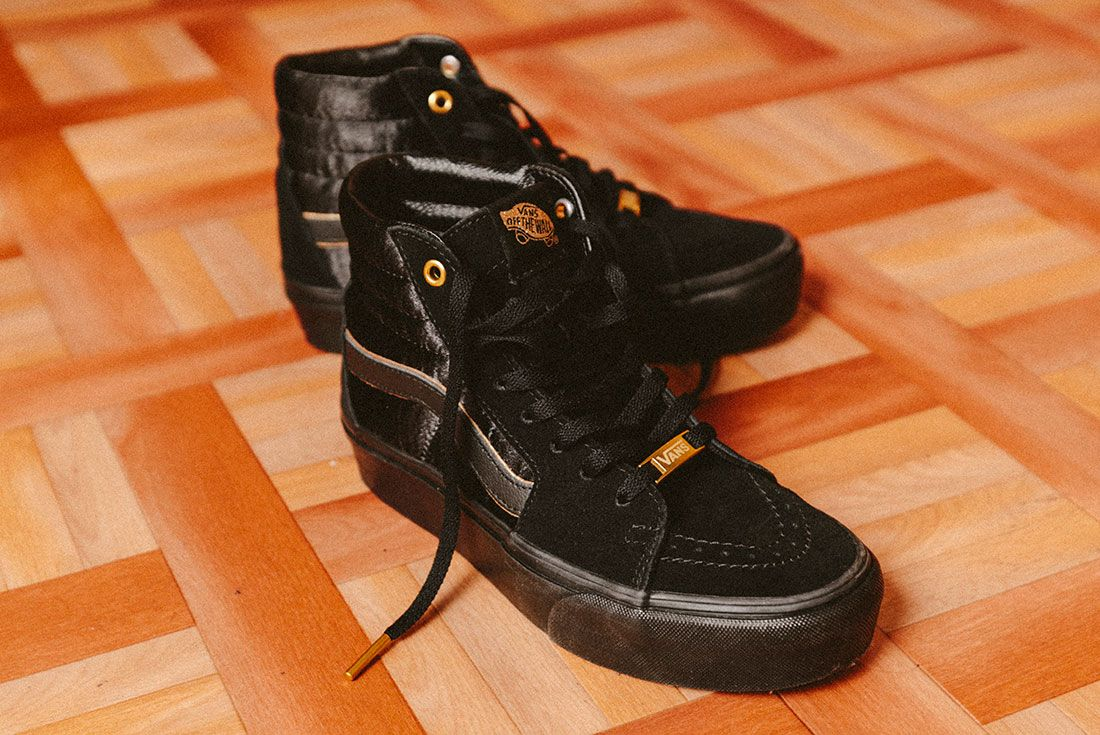 Vans Black Gold Pack 14Jd Sports Exclusive