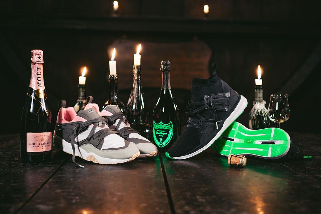 Solebox X Puma Champagne Pack