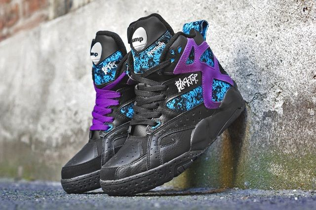 Reebok Battleground Pump Black Bump 4