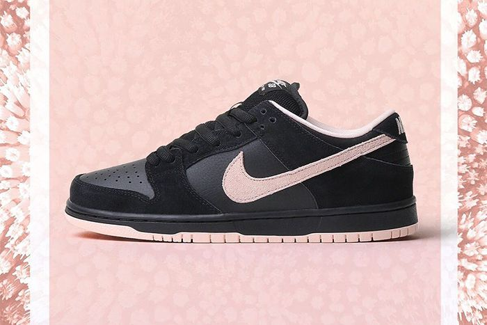 Nike Sb Dunk Low Pro Black Washed Coral Bq6817 003 Release Date Lateral