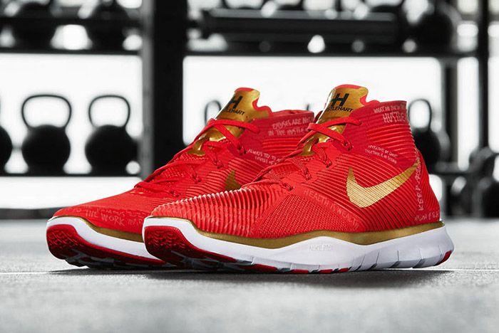 Nike Free Train Instinct Hart Red 5